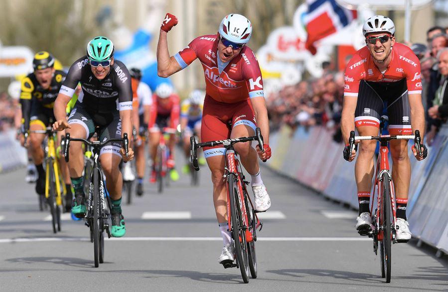 Alexander Kristoff vince la seconda tappa della Tre Giorni di La Panne