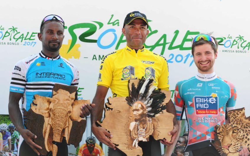 Yohann Gene è il vincitore finale di La Tropicale Amissa Bongo 2017 in Gabon