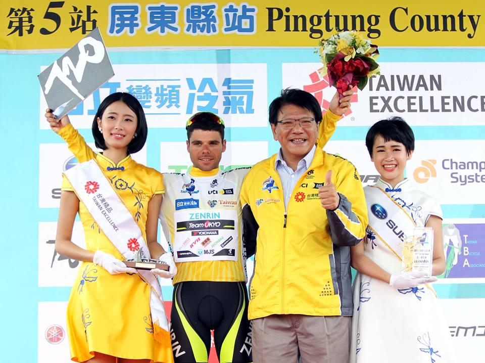 Benjamin Prades vince il Tour de Taiwan