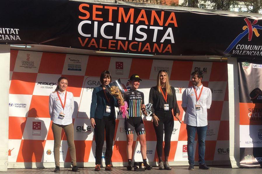 Ann-Sophie Duyck vince la seconda tappa della Semana Ciclista Valenciana