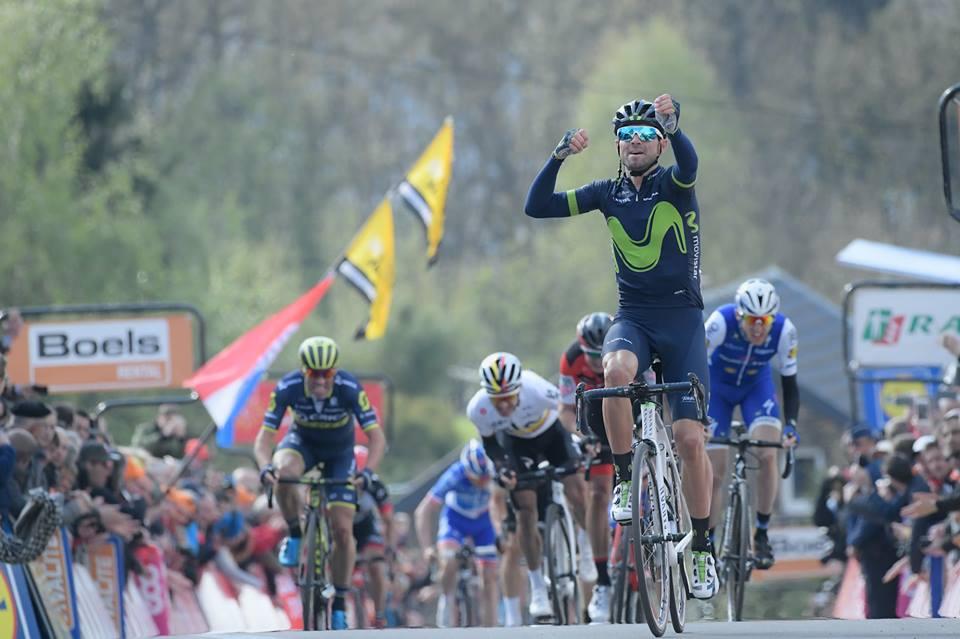 Alejandro Valverde vince la Freccia Vallone 2017