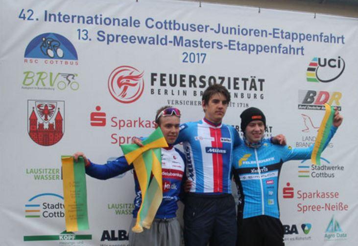 Il ceco Daniel Babor vince la prima tappa dell'Internationale Cottbuser Junioren-Etappenfahrt
