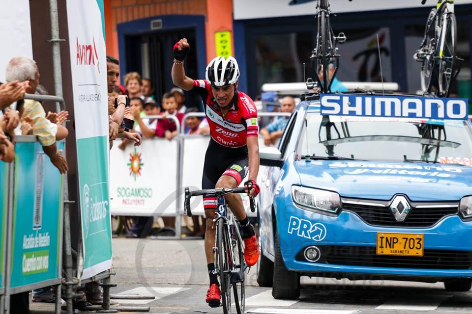 German Enrique Chaves vince la prima tappa della Vuelta de la Joventud in Colombia