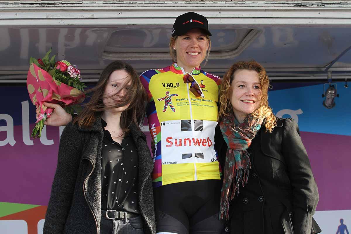 Ellen Van Dijk vincitrice del prologo e leader del Healthy Ageing Tour 2017
