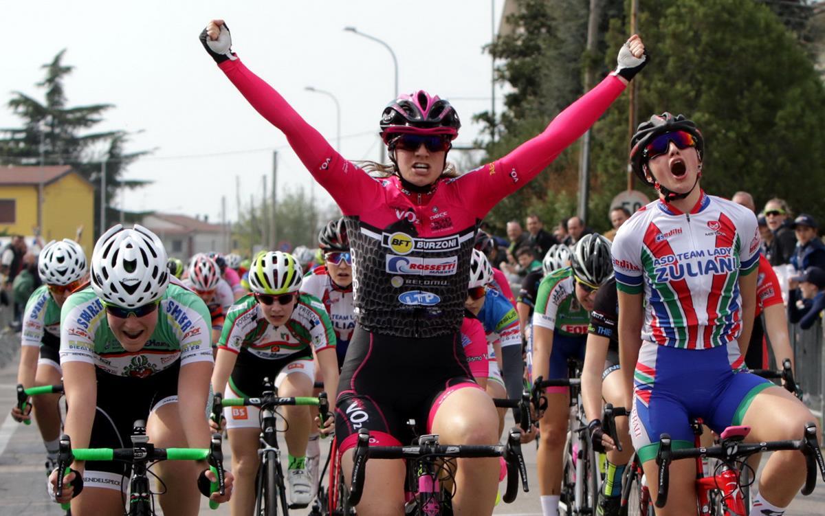 Giada Natali vince la gara Donne Allieve di Bovolone