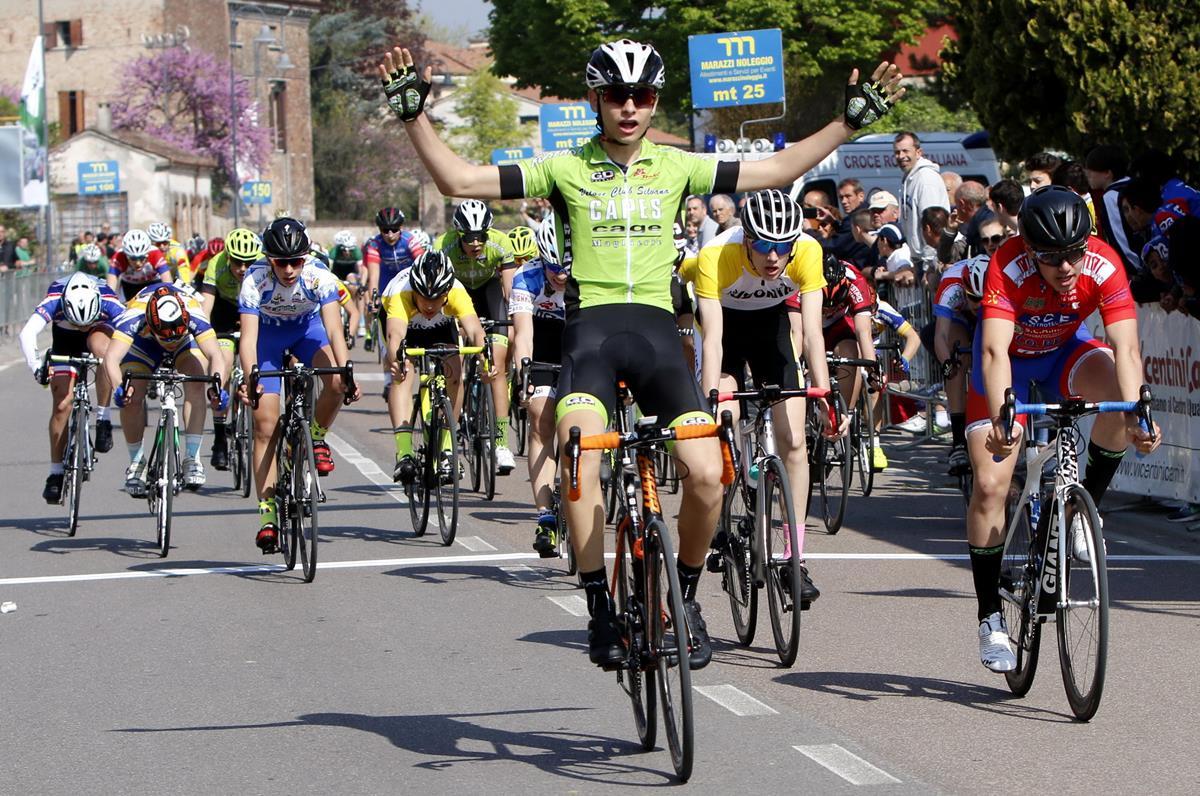 La vittoria di Matteo Consolini a Bionde di Salizzole