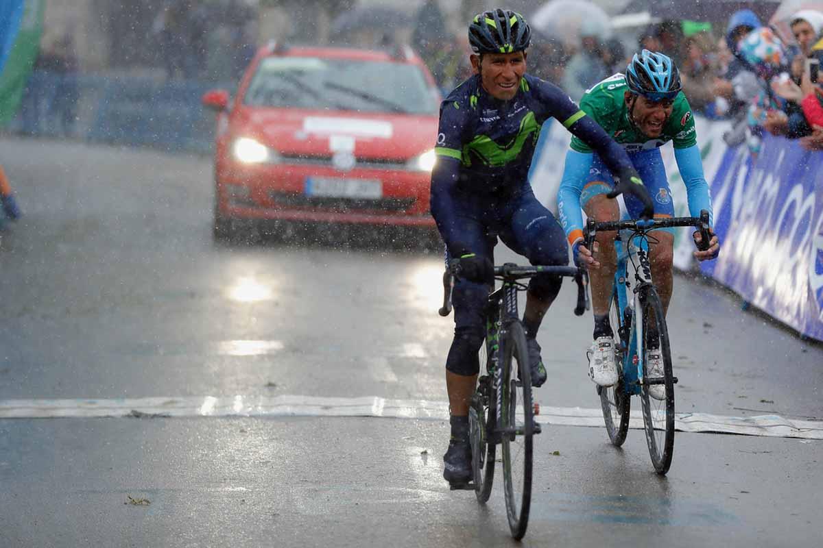 La vittoria di Nairo Quintana nella seconda tappa della Vuelta a Asturias