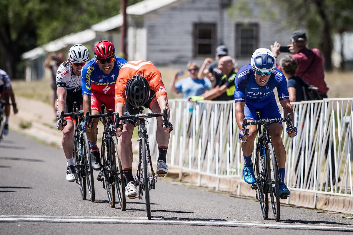 L'arrivo della seconda tappa del Tour of the Gila 2017