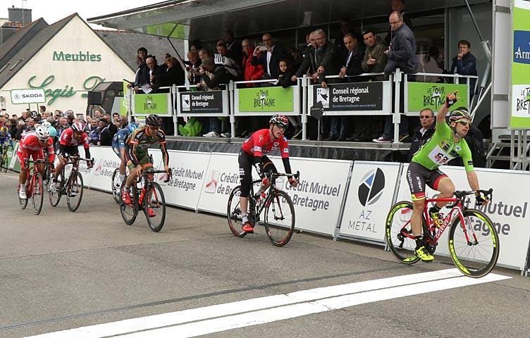 Jakub Mareczko vince la terza tappa del Tour de Bretagne