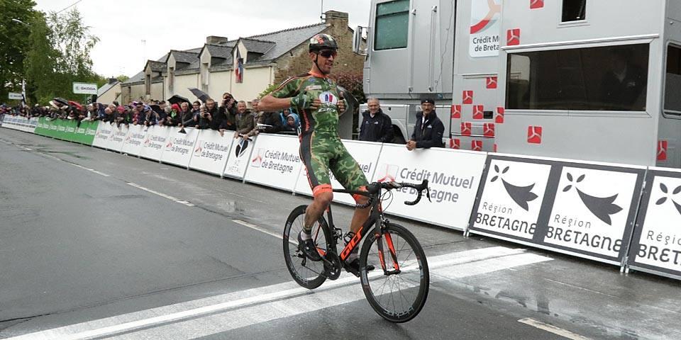 Damien Gaudin vince la quarta tappa del Tour de Bretagne