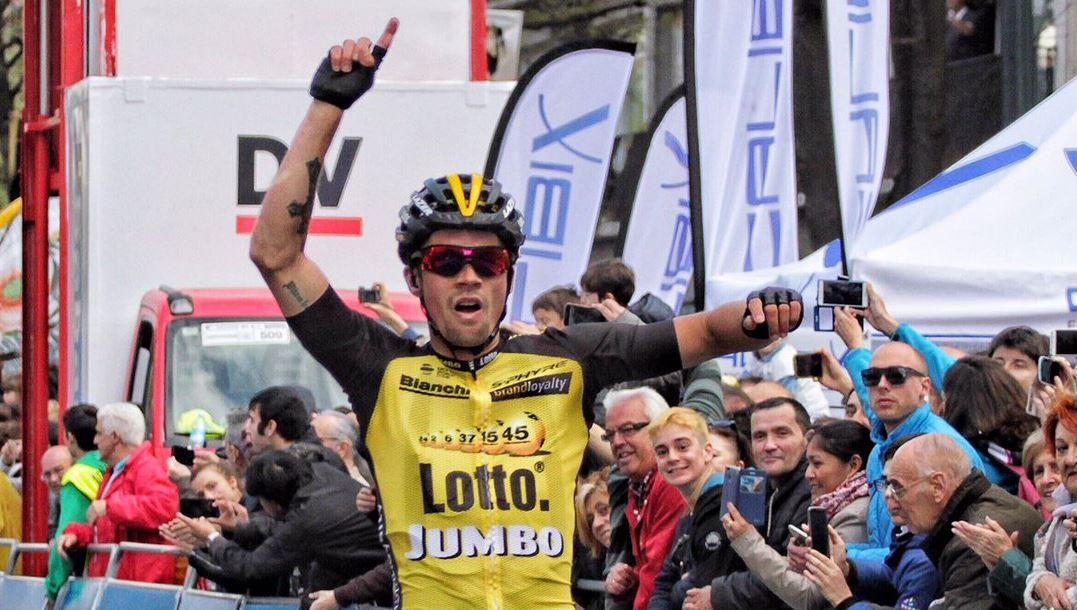 Primoz Roglic vince la quarta tappa del Giro dei Paesi Baschi 2017