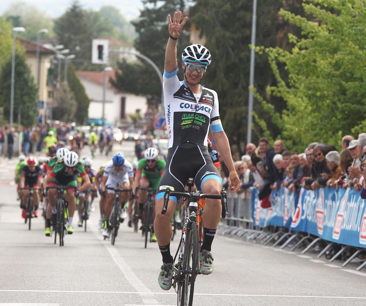 La vittoria di Andrea Toniatti alla 56/a Coppa Sportivi di Montanino di Reggello