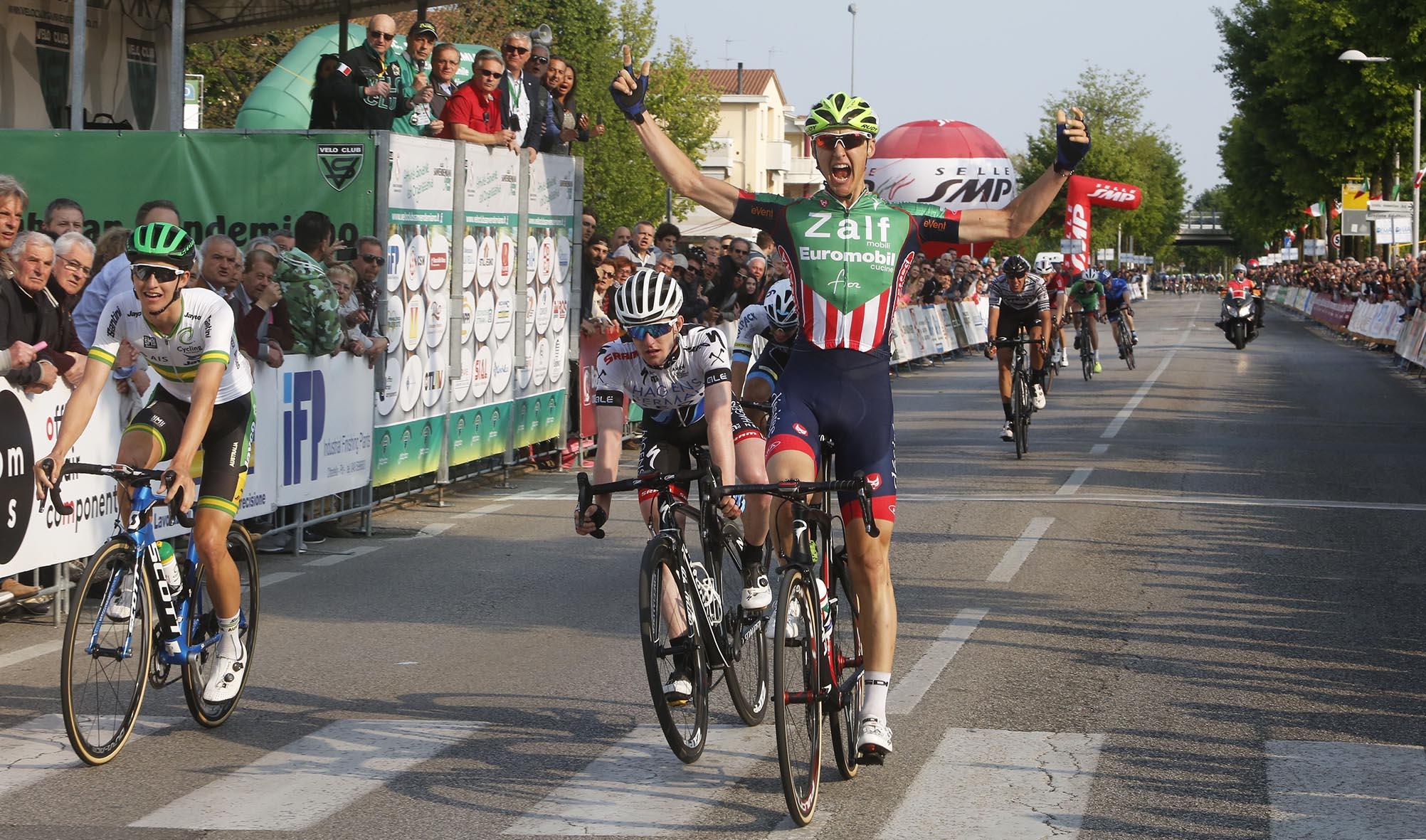 Nicola Conci vince il 10° Trofeo Città San Vendemiano