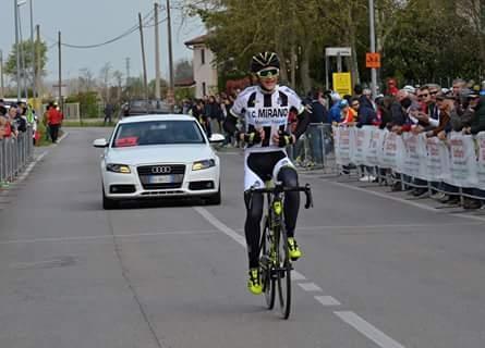 Alessio Delle Vedove vince la gara Esordienti 1° anno di Campolongo Maggiore