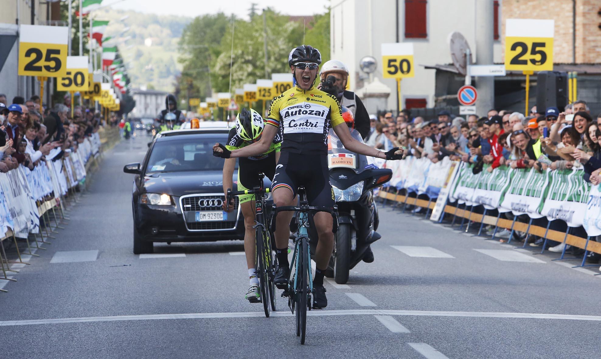 La vittoria di Filippo Zana al 34° Gran Premio Sportivi Sovilla