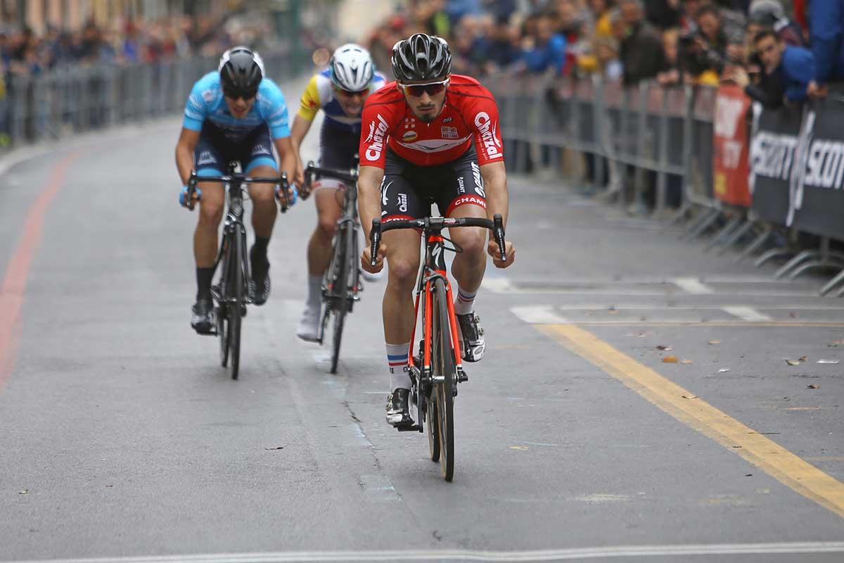 L'arrivo del 45° Trofeo Città di Loano