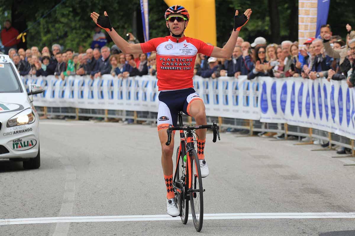 La vittoria di Andrea Piccolo a Taino