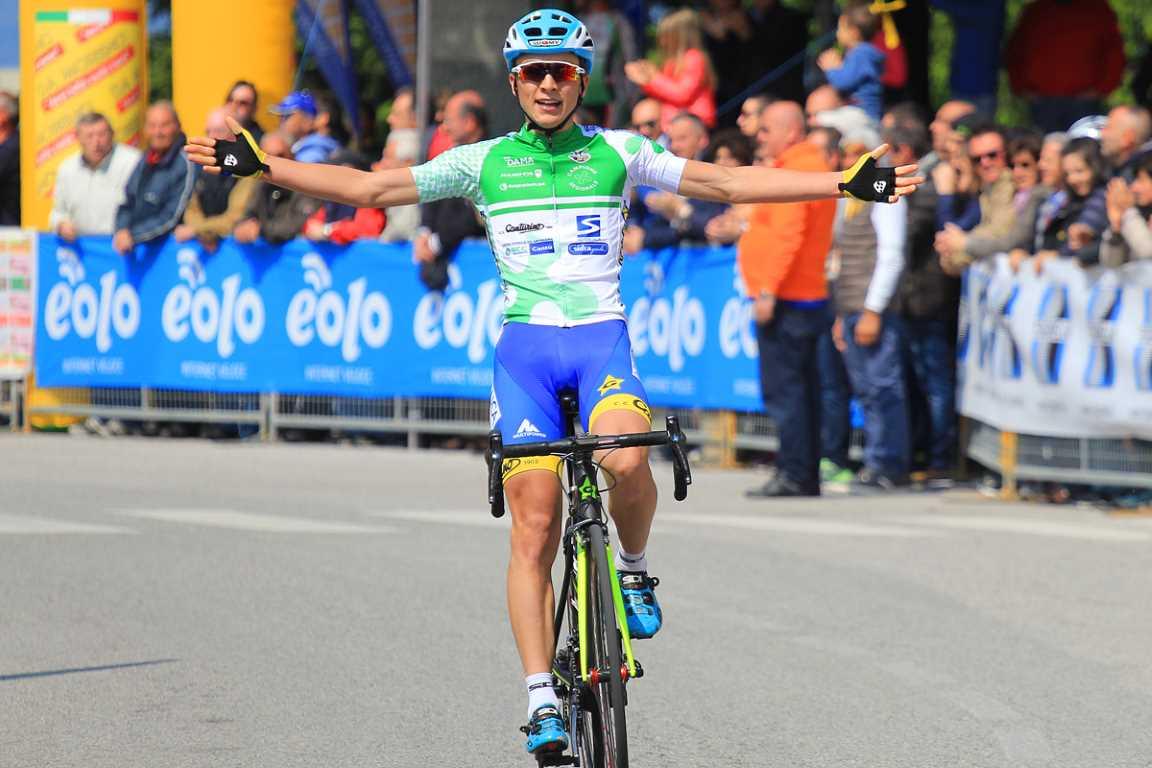 La vittoria di Andrea Bagioli a Taino