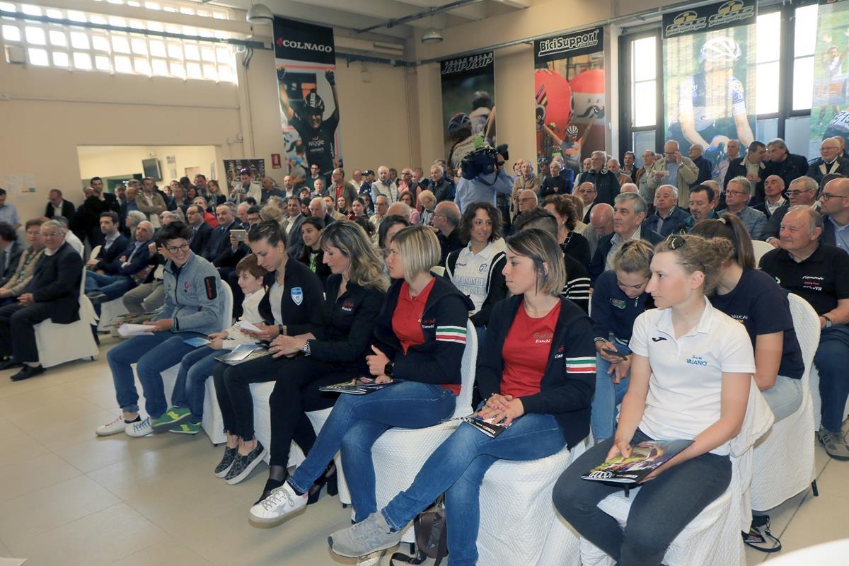 Presentazione Giro Rosa 2017 (foto Fabiano Ghilardi)