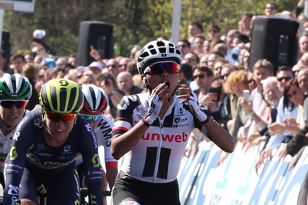 L'americana Coryn Rivera vince il Giro delle Fiandre femminile 2017