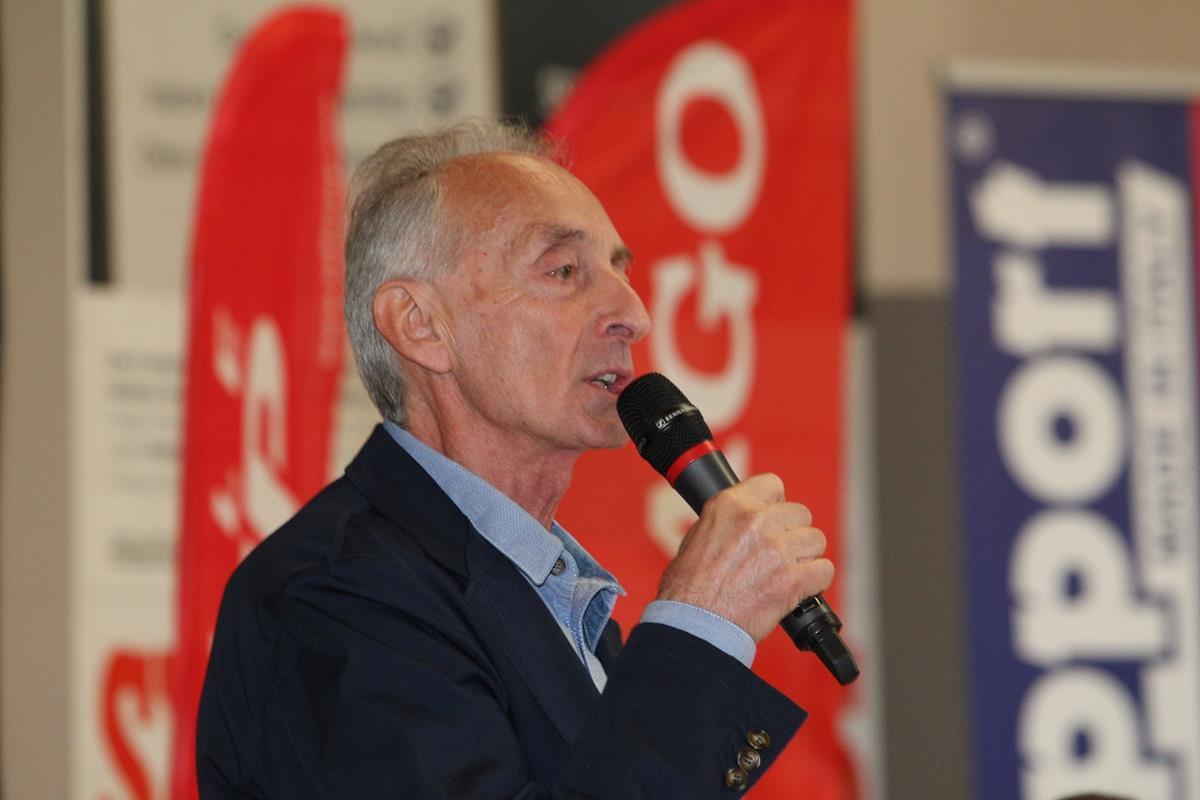 Giuseppe Rivolta, direttore del Giro Rosa