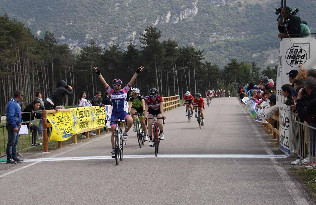 La vittoria dell'esordiente Emma Redaelli a Dro