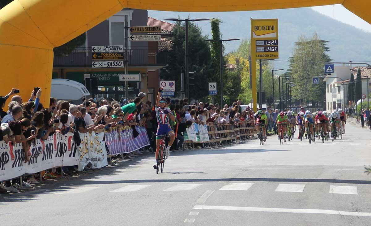 Camilla Alessio vince la gara Donne Allieve di Vo Euganeo