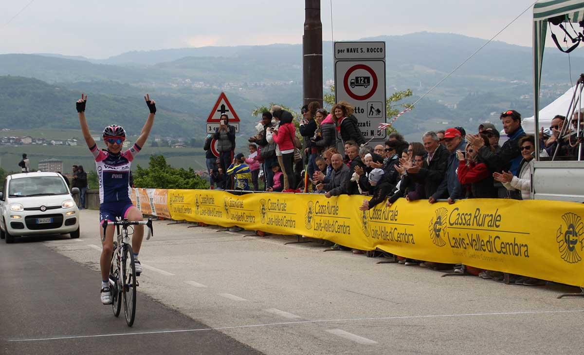 La vittoria di Francesca Pellegrini a Zambana