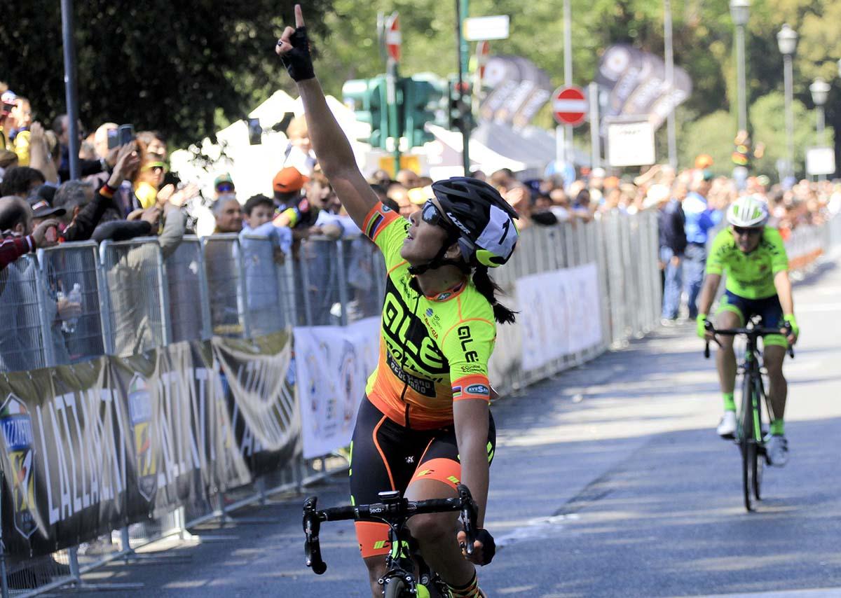 Marta Bastianelli dedica a Scarponi la sua seconda vittoria al Gp della Liberazione Pink