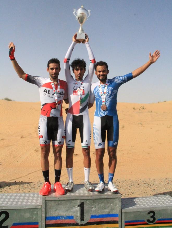 Yousef Mirza campione nazionale degli Emirati Arabi Uniti a cronometro