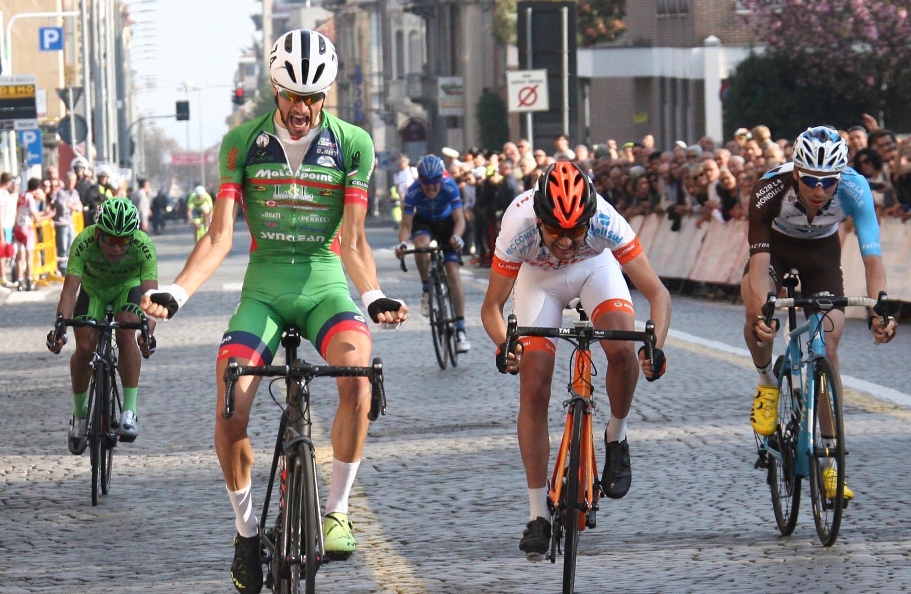 La vittoria di Luca Raggio a Biella