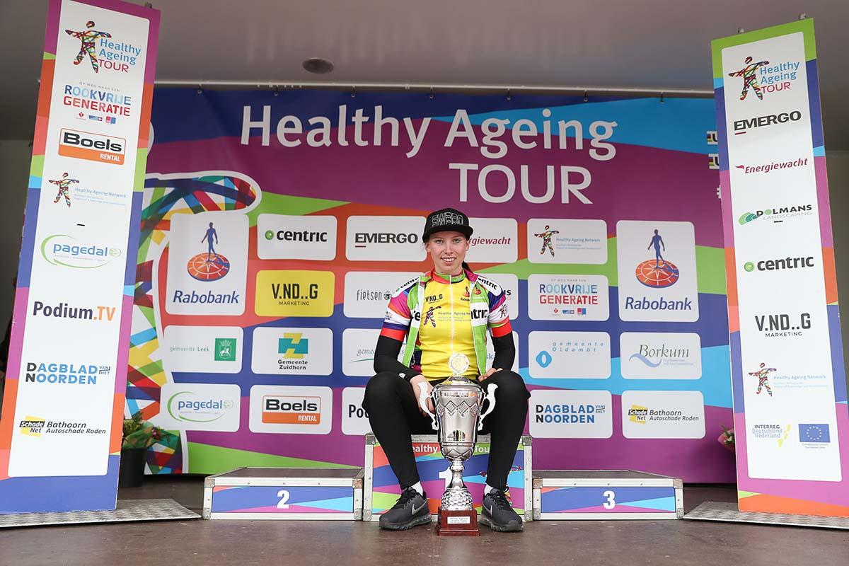L'olandese Lorena Wiebes vince la classifica finale dell'Healthy Ageing Tour Donne Junior 2017
