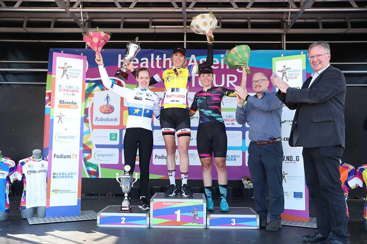 Ellen Van Dijk vince la classifica finale dell'Healthy Ageing Tour 2017