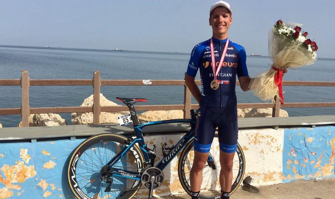 Il portoghese João Almeida vincitore della terza tappa del tour of Mersin 2017