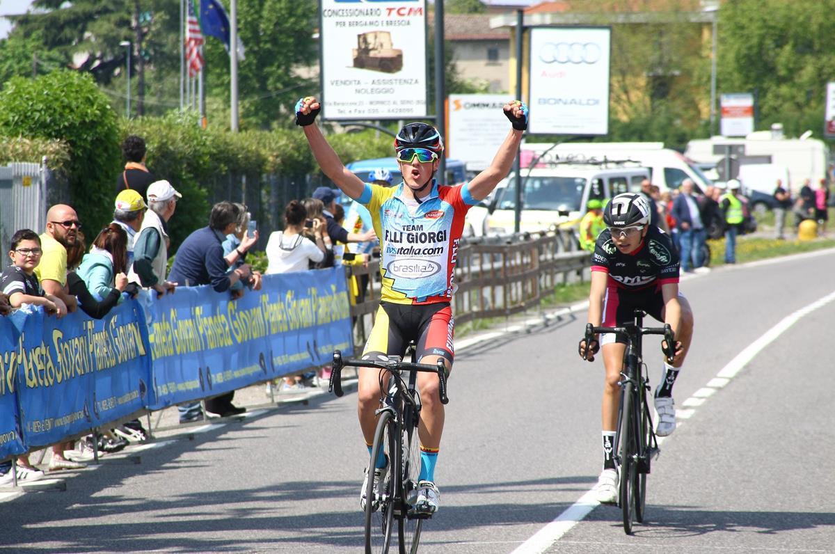 La vittoria di Alessio Martinelli ad Albano