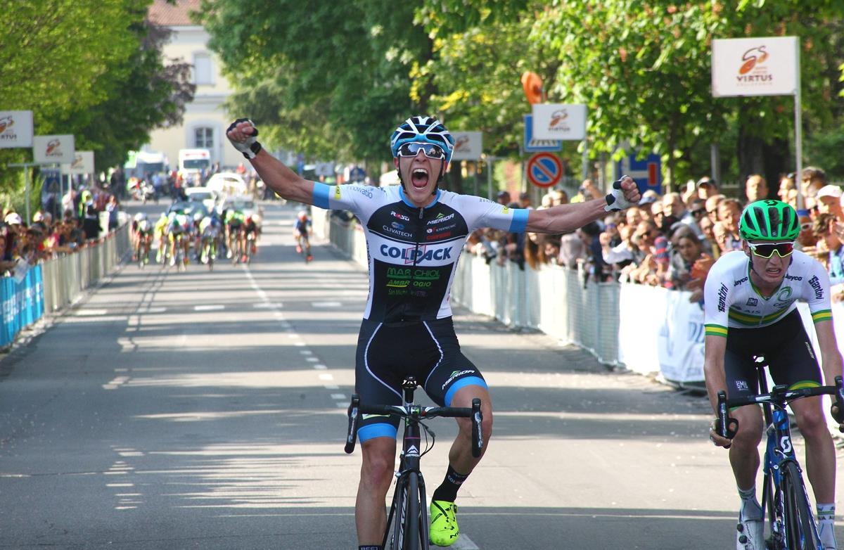 La vittoria di Marco Negrente al Trofeo Edil C di Collecchio 2017