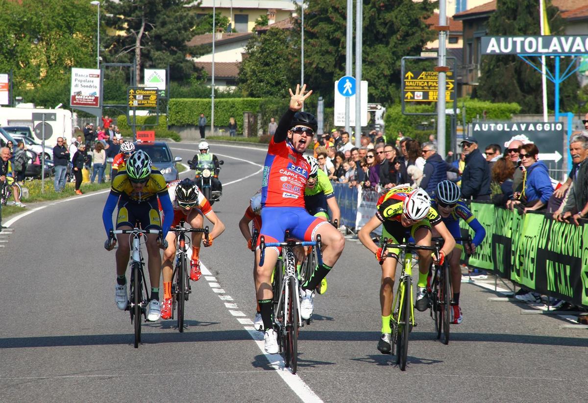 La vittoria di Nicolò Costa Pellicciari ad Albano
