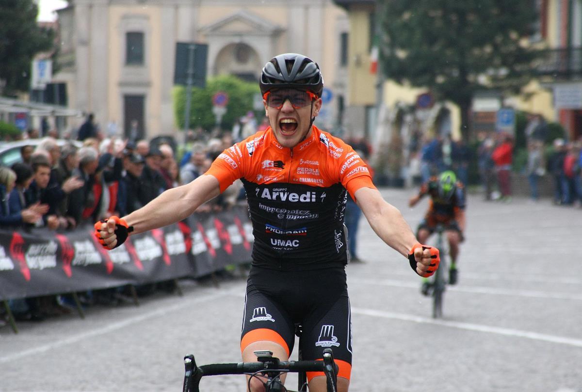 La vittoria di Andrea Bartolozzi a Castano Primo