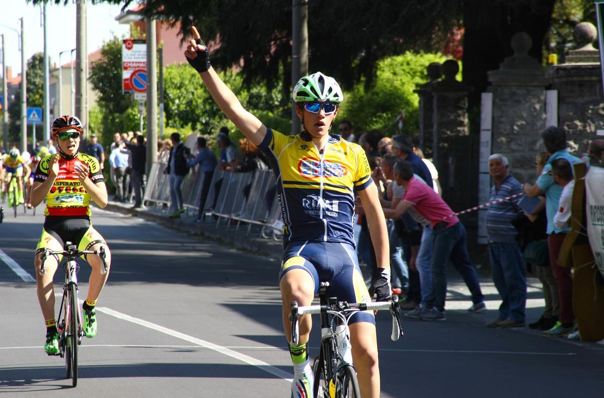 La vittoria di Luca Cretti a Canegrate