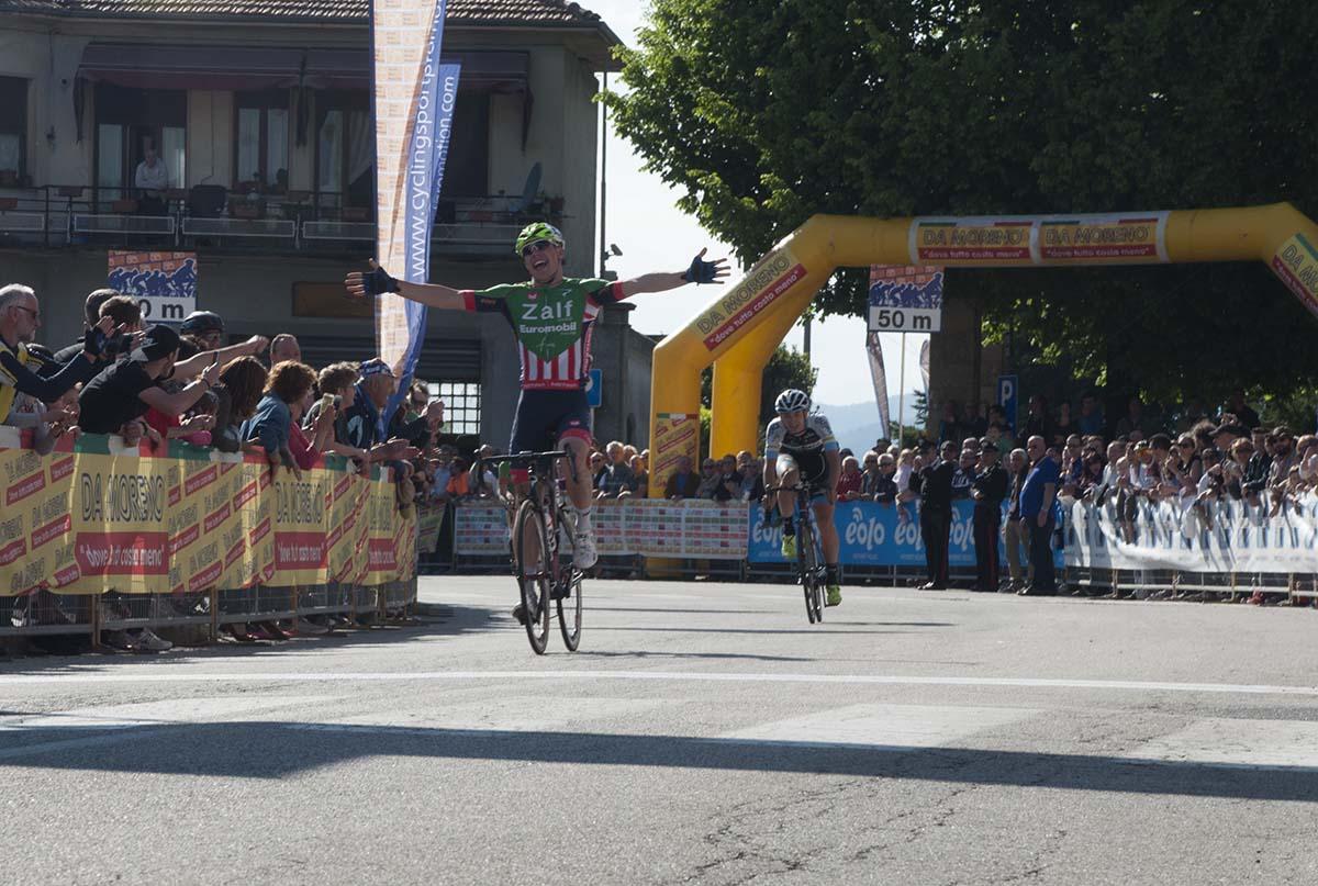 La vittoria di Simone Bevilacqua a Taino