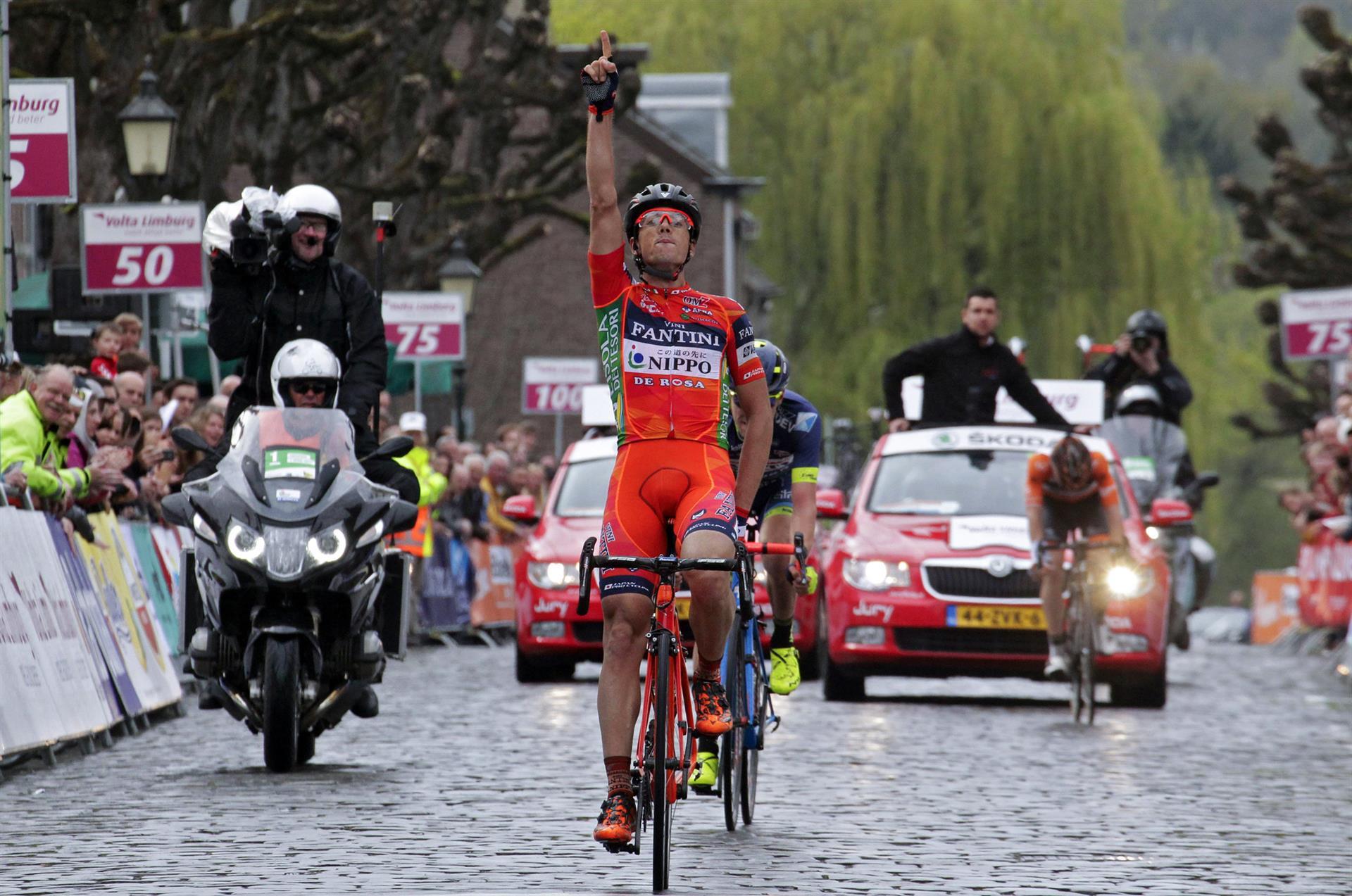 La vittoria di Marco Canola alla Volta Limburg 2017