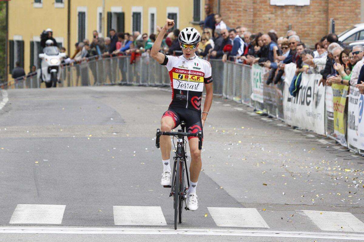 Antonio Tiberi vince a La Torre di Fucecchio
