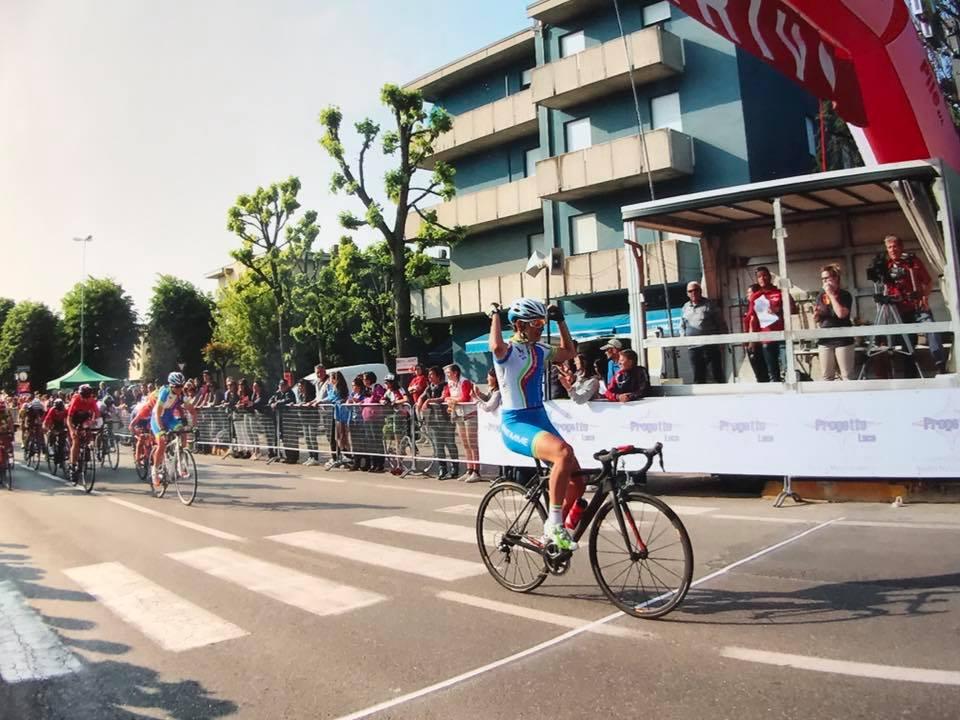 La vittoria di Eleonora Camilla Gasparrini a S. Marino di Carpi