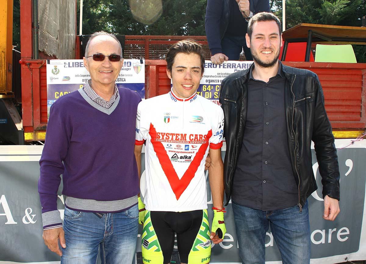 Luca Colnaghi campione milanese Juniores 2017