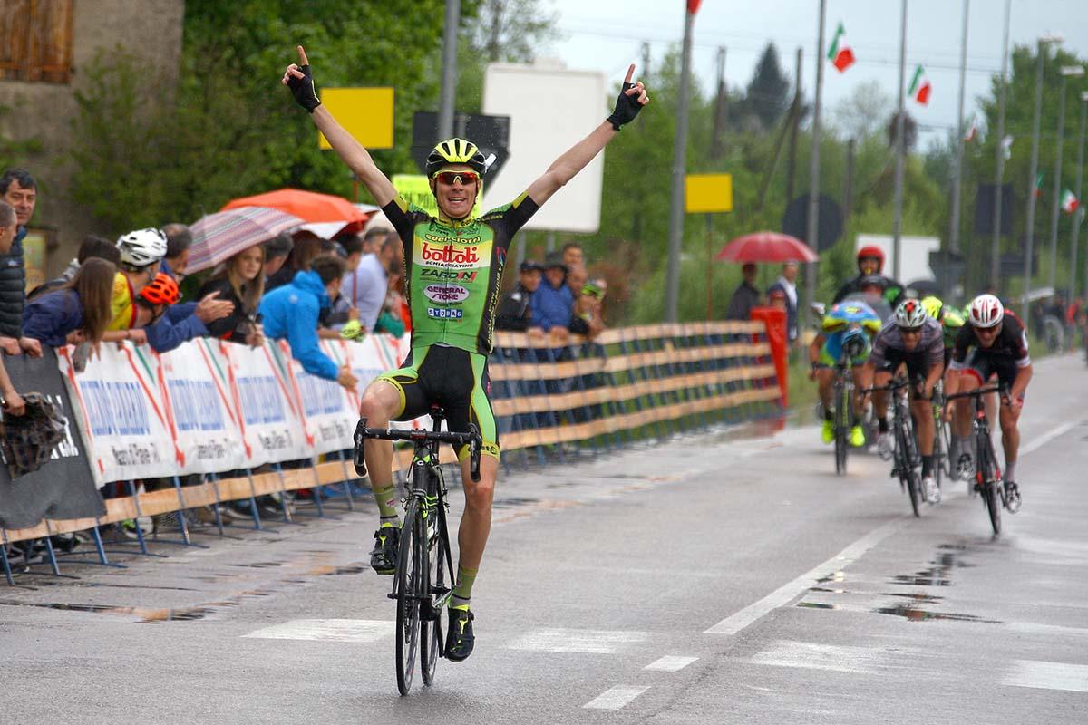 La vittoria di Davide Casarotto a Cimetta di Codognè nel 68° Circuito del Termen