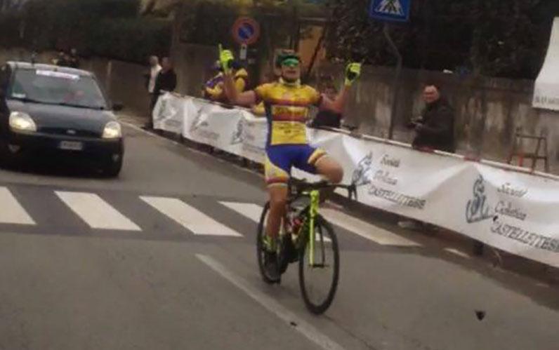 Andrea Piras vince a Castelletto Sopra Ticino