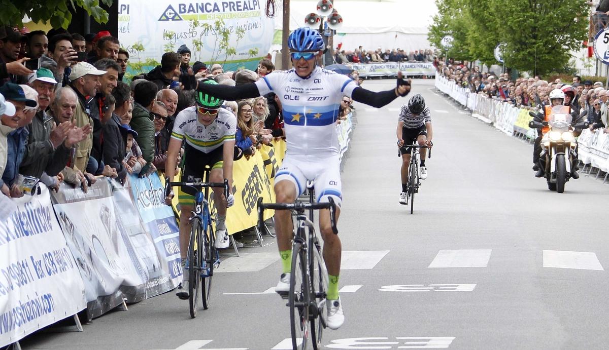 Aleksandr Riabushenko vince il Giro del Belvedere 2017