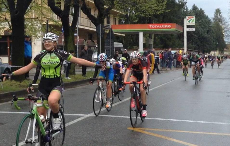 La vittoria dell'esordiente Sara Fiorin a Collegno