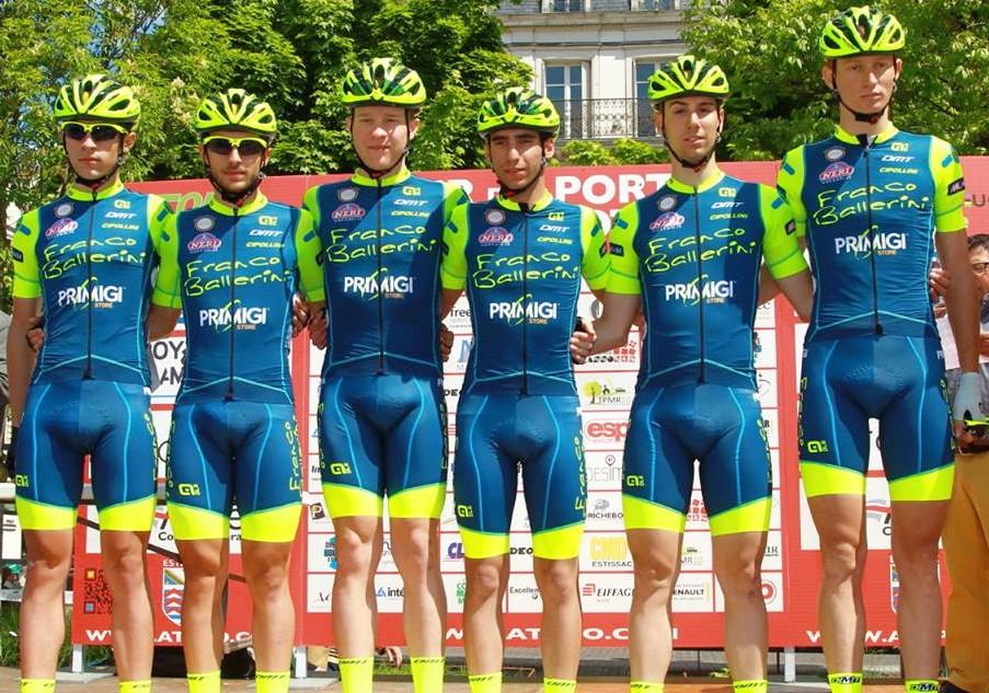 Il Team Franco Ballerini al Tour des Portes du Pays d'Othe