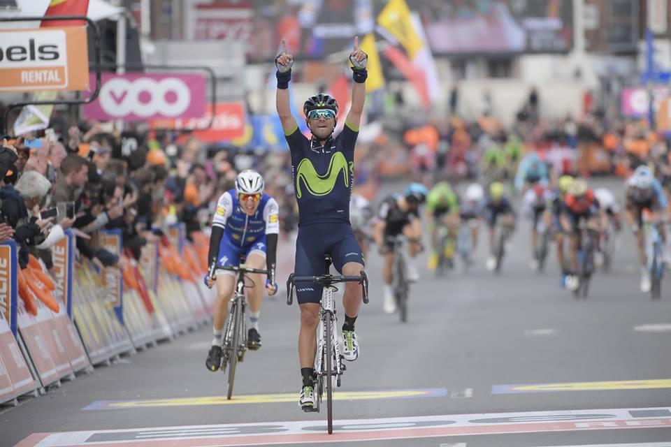 Alejandro Valverde vince la Liegi-Bastogne-Liegi 2017